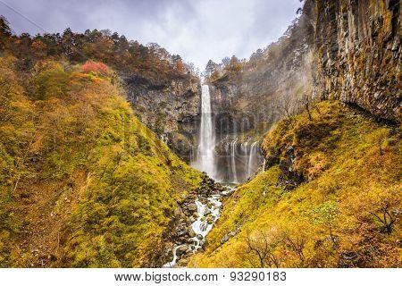 Nikko, Japan at Kegon Falls.