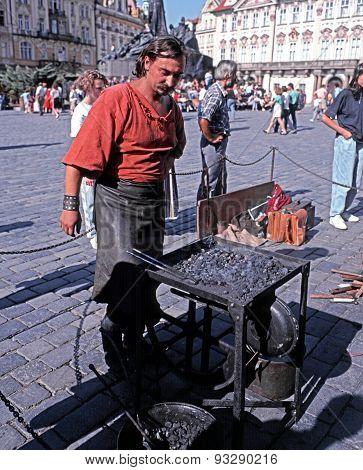 Blacksmith, Prague.