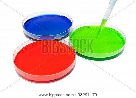 petri dish drop solution