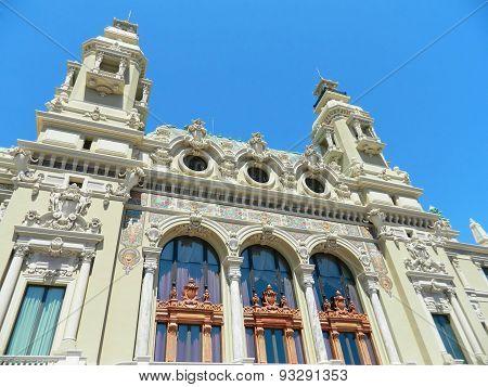 Architecture of The Monte Carlo Casino.