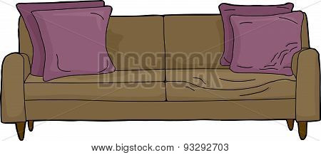 Loveseat With Invsible Person