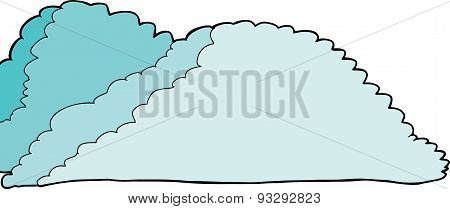 Isolated Cumulonimbus Clouds