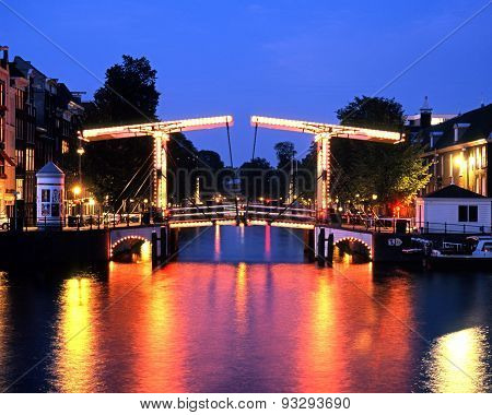 Walter Suskind Bridger, Amsterdam.