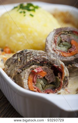 bavarian meat roulade