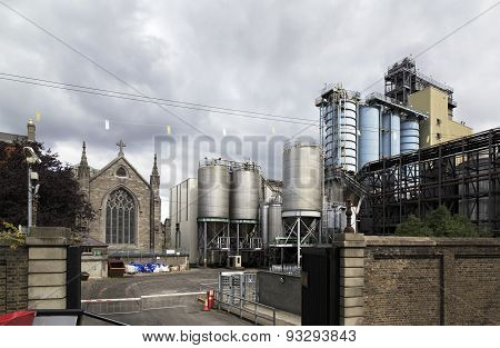 Guinness Brewery in Dublin.
