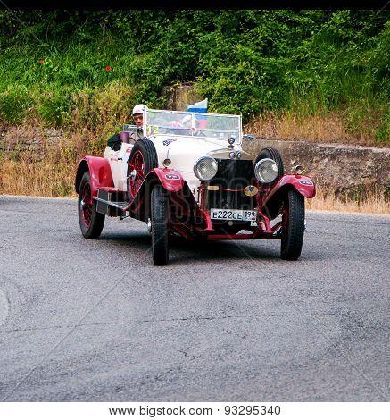 old car ALFA ROMEO RL Super Sport Torpedo 1925  mille miglia 2015