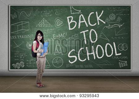 Schoolgirl Back To School