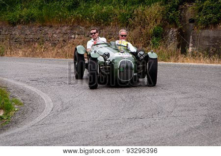 old car HW ALTA POI HWM  B1 Place  1949 mille miglia 2015