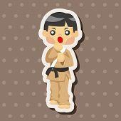 pic of taekwondo  - Taekwondo Theme Elements - JPG