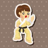 foto of taekwondo  - Taekwondo Theme Elements - JPG