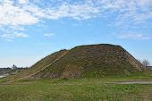stock photo of prophets  - Burial mound - JPG