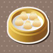 foto of chinese menu  - Chinese Food Theme Elements - JPG