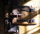 Very Old Prison Lock