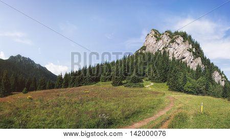 Maly Rozsutec Mountain in Mala Fatra National Park, Slovakia