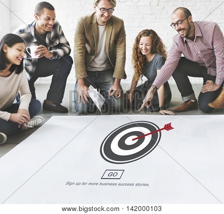 Targeting Aiming Shhot Directional Accurate Concept