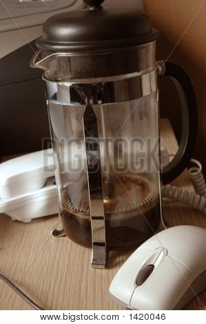 Empty Coffee Pot