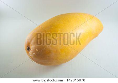 Fruit of Mango cultivars Nam Dok Mai See Thong