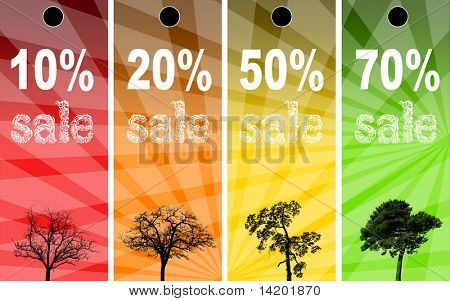 Sale abstract colors background