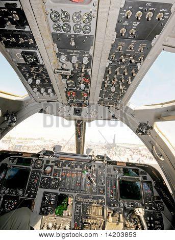 Modern Bomber Cockpit
