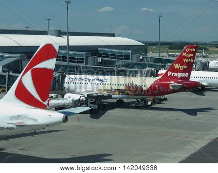 Aircrafts Of The Czech Airlines