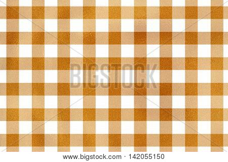 Golden Checked Texture.