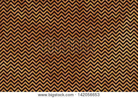Golden Stripes Background, Chevron.