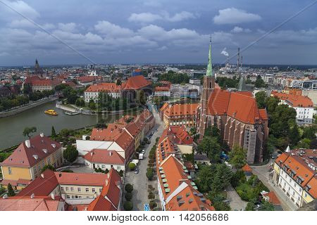 Wroclaw. Image of Wroclaw, Poland during summer day.