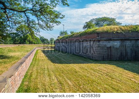 Governors Island, New York -  Fort Jay