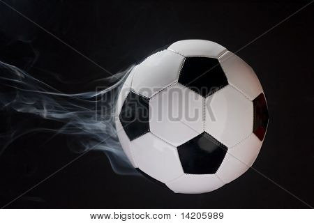 Smoking Soccer Ball