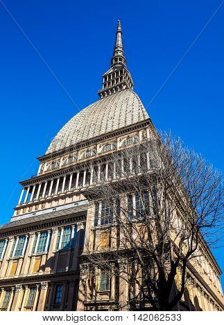 Mole Antonelliana In Turin Hdr