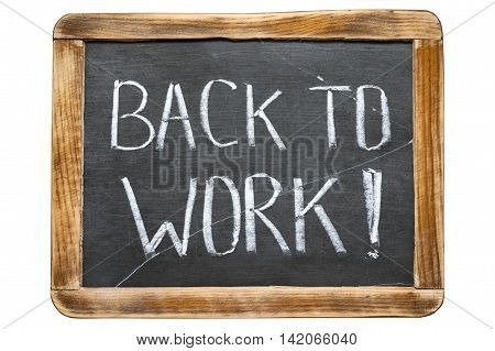 Back To Work Fr