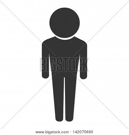 man male guy boy men head body icon person user vector graphic isolated and flat illustration