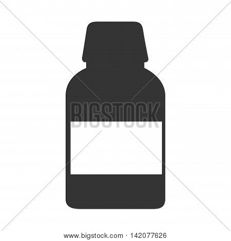 remedy bottle drugs medicine prescription medical medicament recipient pill vector graphic isolated and flat illustration