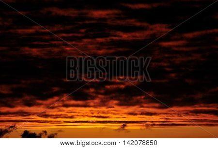 Reddish And Yellowish Skies