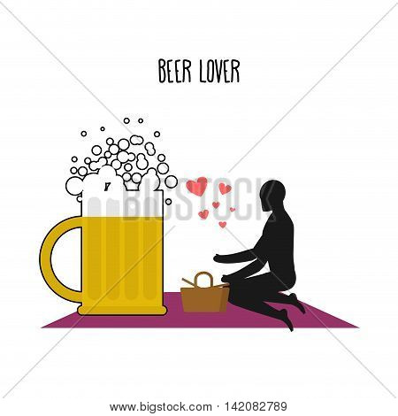 Beer Lover. Lovers On Picnic. Rendezvous In Park. Mug Of Beer And People. Rural Jaunt Lovers. Meal I