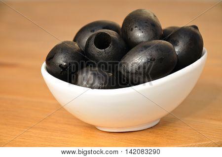 Big black olives - special type of  israeli black olives.