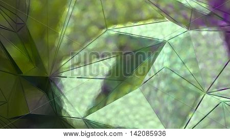 abstract green background. glare on the glass