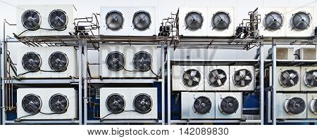 Industrial Air Conditioning Units.