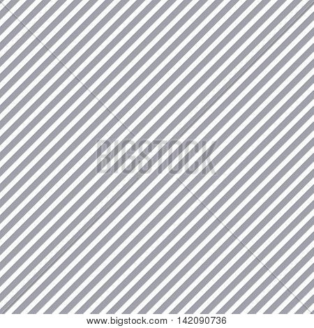 Striped gray diagonal seamless pattern. Fashion graphic background design. Modern stylish abstract texture. Colorful template for prints textiles wrapping wallpaper website. VECTOR illustration