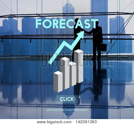 Forecast Future Planning Predict Straetgy Trends Concept