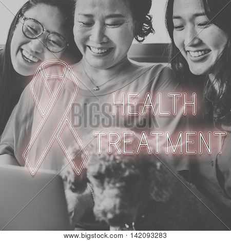 Breast Cancer Hope Healthcare Believe Concept