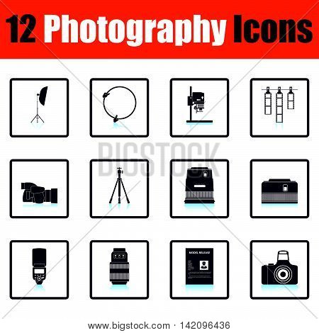 Photography Icon Set