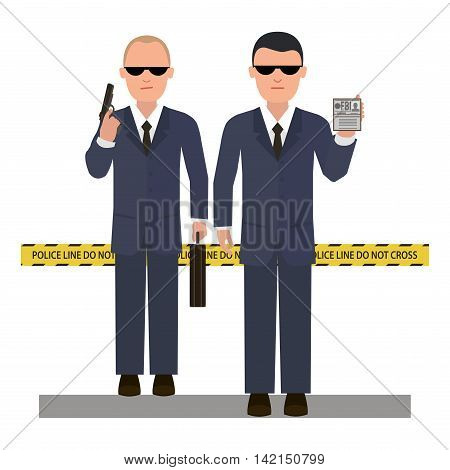 Two Security Agents