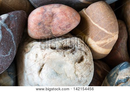 Detail of the various stones - minerals