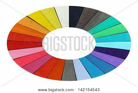 Abstract image of the color range - spectrum