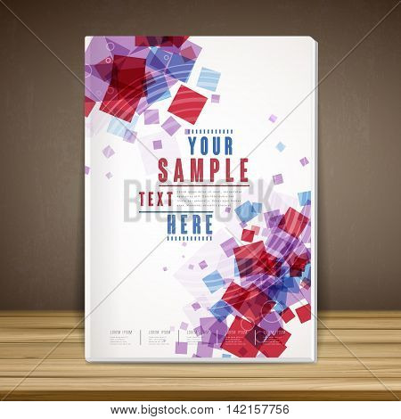 Lovely Book Cover Template Design