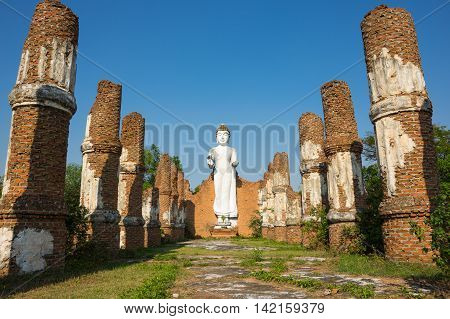 Buddha statue in Samut Prakan province Thailand