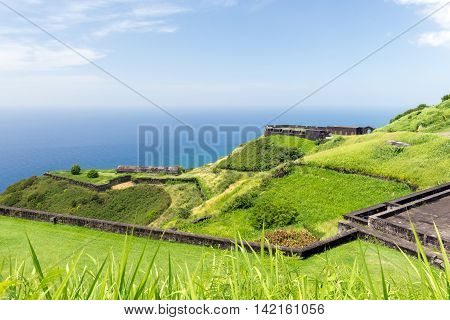 Brimstone hill fortress St. Kitts and Nevis