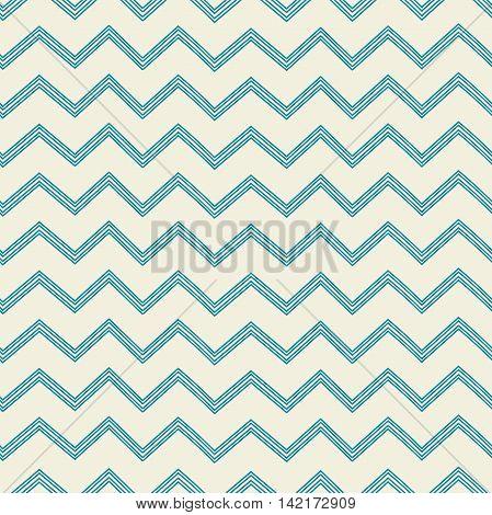 Pattern in zig zag. Classic chevron seamless pattern. Vector illustrations.