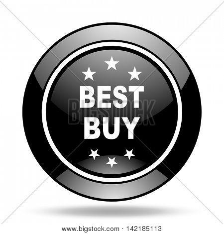 best buy black glossy icon